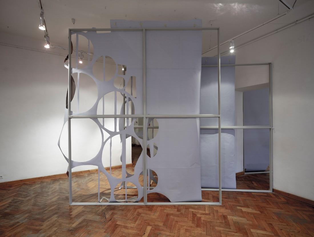 Installation view / Anita Witek: reset / Galéria Médium — Academy of Fine Arts and Design, Bratislava