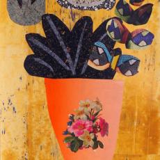 Anja Langer, Mince Matters, 2014, mixed media, 40x 30cm