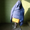 "Anna Baumgart, B9 (Natascha Kampusch)"", 2007, resin, acrylic, installation view"