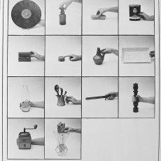 Anna Kutera<br />The Inventory-b<br />1980<br />black and white board<br />140x70cm