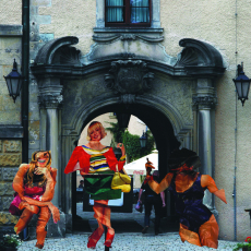 Anna Kutera<br />POST-public space cycle: Kliczkow Castle<br />2012<br />photography c-print<br />100x100cm