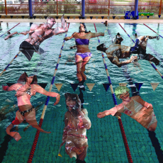 Anna Kutera<br />POST-public space cycle: Swimming Pool<br />2012<br />photography c-print<br />100x100cm