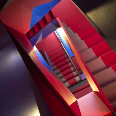 Donmar-Theatre-Dryden-Street-Saturated-Stairs-2014-