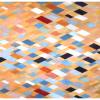 "Arlene Slavin <em>Beige</em>, 1973 Acrylic on canvas 150 x 210 cm (60"" x 84"")"