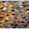 "Arlene Slavin <em>, 1973 Acrylic on canvas 150 x 210 cm ( 60"" x 84"")</em>"