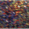 "Arlene Slavin <em>Red</em>, 1973 Acrylic on canvas 150 x 180 cm (60"" x 72"")"