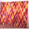 "Arlene Slavin <em>Autumn Grasses with Falling Sky</em>, 1973 Acrylic on canvas 240 x 300 cm (96"" x 120"")"