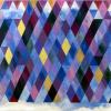 "Arlene Slavin <em>Sunset Shadows</em>, 1973 Acrylic on canvas 105 x 150 cm (42"" x 36"")"