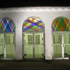 Arlene Slavin, Guild Hall, New York, 2014, installation view