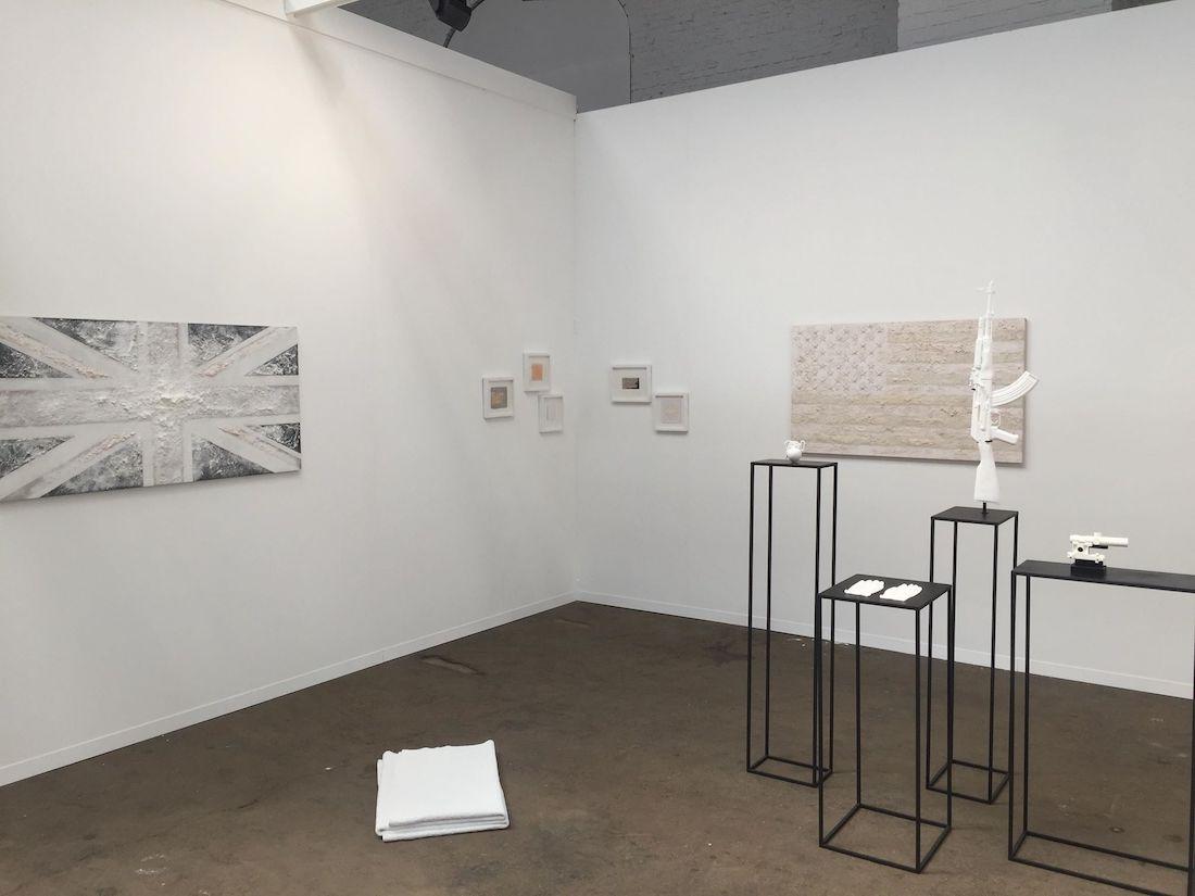 Joanna Rajkowska, Art Brussels 2018, installation view