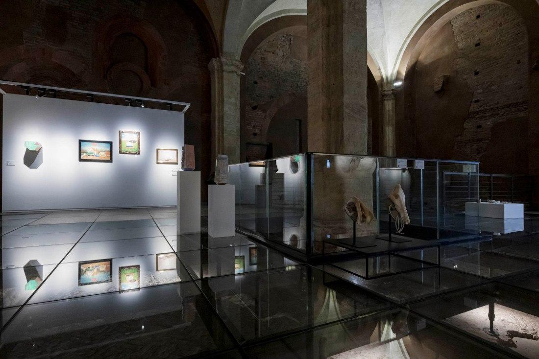 Installation view, Palazzo Madama, Photo Courtesy © Perottino-Piva Artissima2020