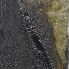Bożenna Biskupska, Cage, 2007-2013, (BBSC14), oil on canvas 41 x 27 cm