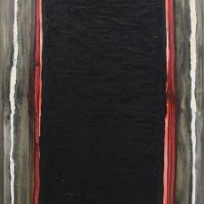 Bożenna Biskupska, Big Cage, 2006-2012, (BBLC02)  oil on canvas 185 x 120 cm