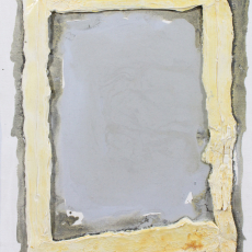 Bożenna Biskupska, Cage, 2008-2014, (BBSC19),  oil on canvas 30 x 35 cm
