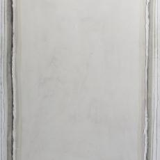 Bożenna Biskupska, Big Cage III, 2006 - 2012,  oil on canvas 185 x 120 cm