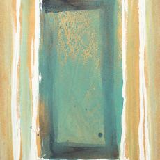 Bożenna Biskupska, Cage, 2005-2011, (BBPC29),   oil on paper 40 x 30 cm
