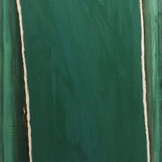 Bożenna Biskupska, Big Cage 2006-2012, (BBLC03),  oil on canvas 185 x 120 cm