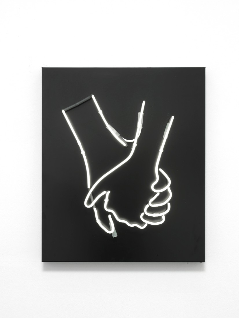 Hand in Hand, 2016, 60 x 50 x 10cm