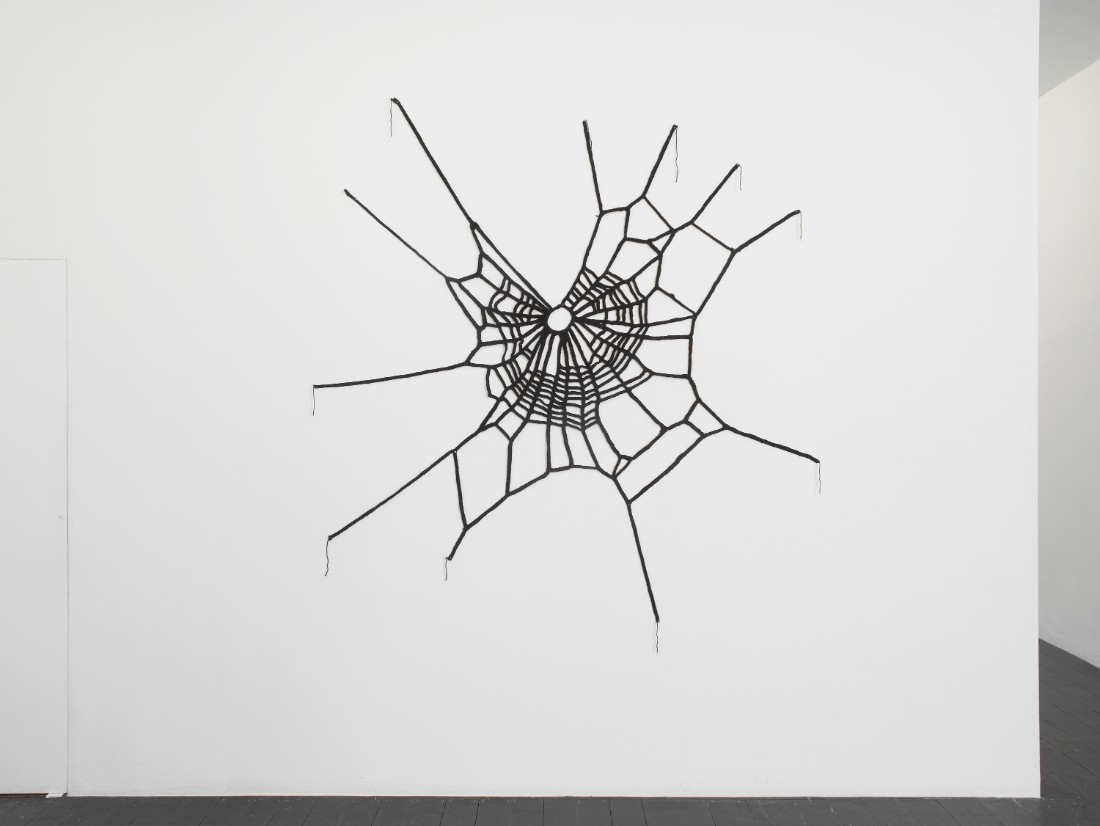 Marijuana, 2016, yarn, 160 x 140cm
