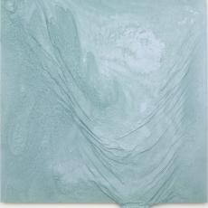 Cédric Teisseire, SAW CITY DESTROYED SAME, 2014, 30/14, lacker, Spray on Dibond, aérosol, 125 x 124 cm
