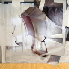 Anita Witek<br />Clip<br />2018<br />site-specific installation at the Wexner Centre for Arts, Columbus, Ohio, Installation image