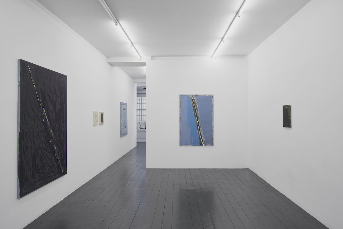 Bożenna Biskupska, Epiphany of Time, 2019, létrangère, installation view