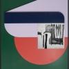 Filip Berendt, Monomyth II B, 2018, Archival pigment print on dibond, acrylic paint, MDF, 70 x 50 cm
