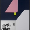 Filip Berendt, Monomyth II D, 2018, Archival pigment print on dibond, acrylic paint, MDF, 70 x 50 cm