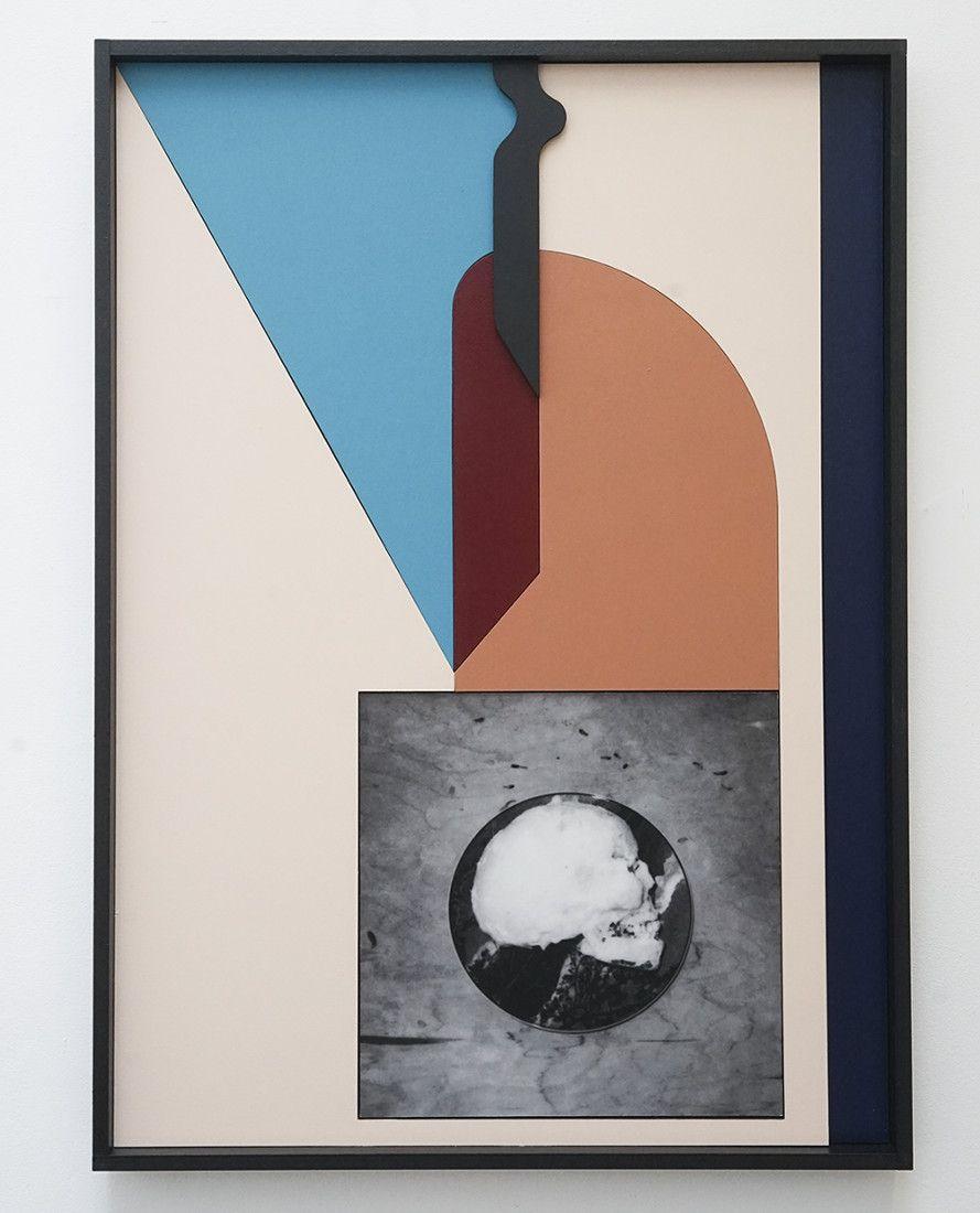 Filip Berendt<br />Monomyth II F<br />2017<br />archival pigment print on dibond acrylic paint, MDF<br />70x50 cm