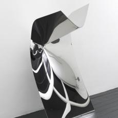 Florian Pugnaire + David Raffini, Untitled, 2016. Steel, 100 x 70 x 180 cm