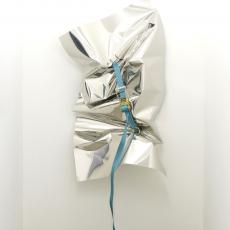Florian Pugnaire, Chjami Rispondi, 2013, aluminium, wench belt