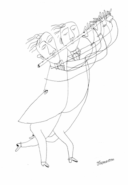 Double-flute (third version), c.1955