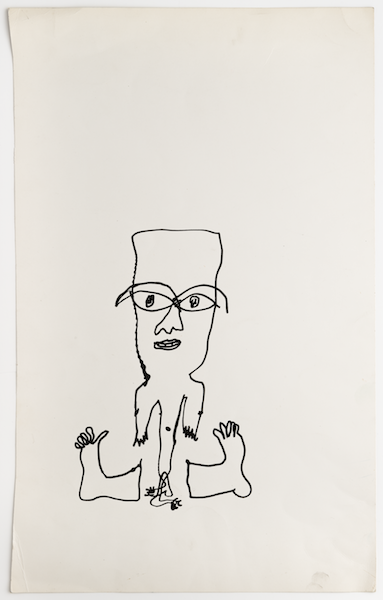 Man With Spare Feet, 