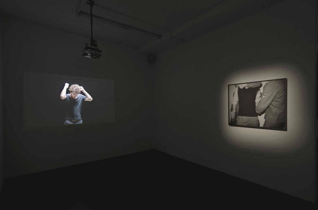 choke, létrangère, 2017, installation view
