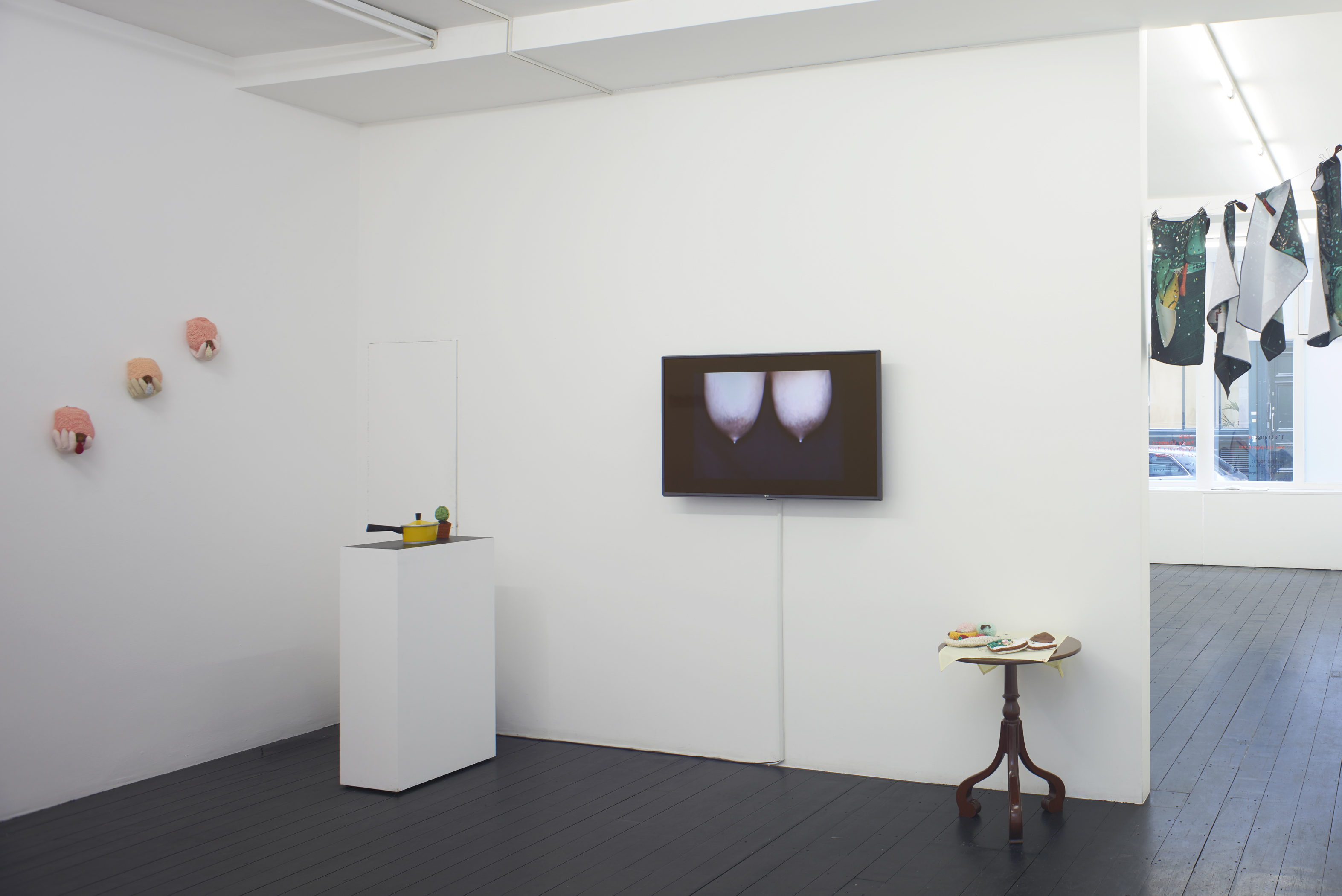 Home Strike, 2018, installation view.