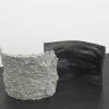 István Szabó, Impact & Crust, Hybrid series, 2017, ceramic, iron oxide.
