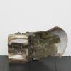 István Szabó, Untitled, Hybrid series, 2017, ceramic, metal screw, recycled glass, 22,5 x 32,5 cm