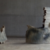 István Szabó, Untitled, Hybrid series, 2017, ceramic, 60x 45 cm