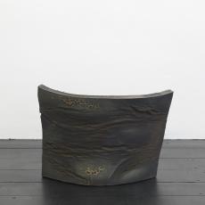 István Szabó, Crust, Hybrid series, 2017, ceramic, varnish, approx. 40 x 60 x 15 cm
