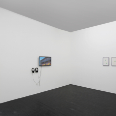 Installation view, Jyll Bradley: Currency at l'étrangère