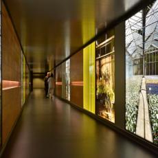 Le Jardin Hospitalier, Hopital Roger Salengro, CHRU, Lille, France. Permanent Installation.