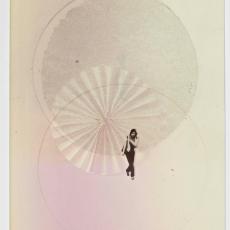 Architecture Makes Form: Trees Create Space (For Aldo Giurgola), 2013, 29.5 x 20.5 cm