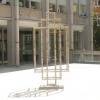 Karen Tang, Toile de Dexion, dexion, toile de jouy paper, bolts, lacquer. 250cm x 125cm x 65cm