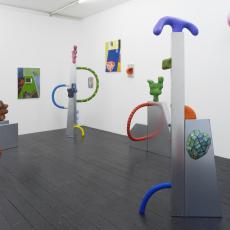 Karen Tang, Installation View: it's for me, it's for you, Karen Tang and David Ben White, 2017