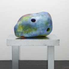 Karen Tang, Magnetic Combo 10, 2016, galvanised steel, Styrofoam, epoxy fibreglass, magnets, paint, varnish. 122 x 96 x 59 cm
