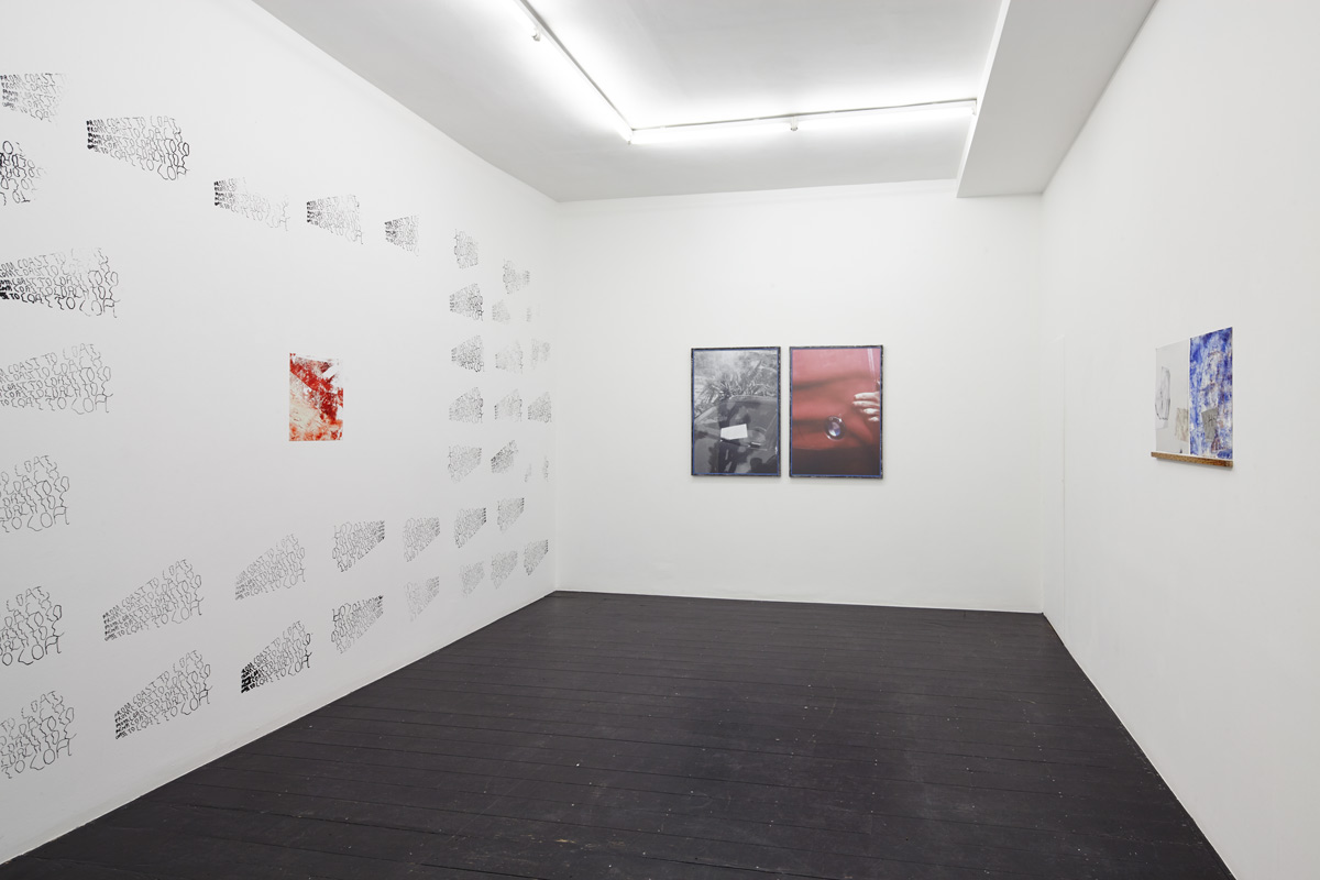Katharina Marszewski, All Eyez Inn. Installation view