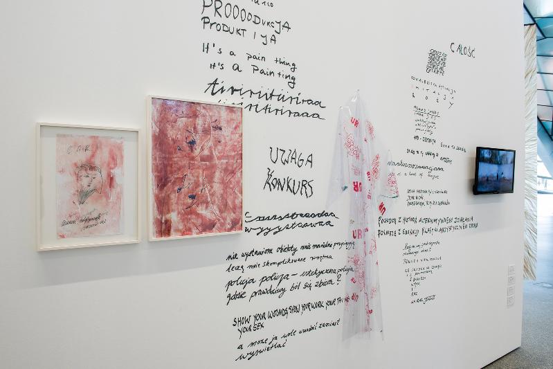 Installation view, Katharina Marszewski, 'Contemporary Art from Poland' at the European Central Bank