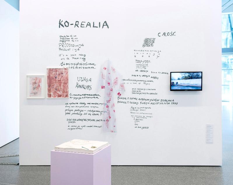 nstallation view, Katharina Marszewski, 'Contemporary Art from Poland' at the European Central Bank