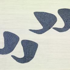 Katie Cuddon, Public Imagination, 2013, Pencil, pen, collage on paper, 38 x 56 cm (framed)