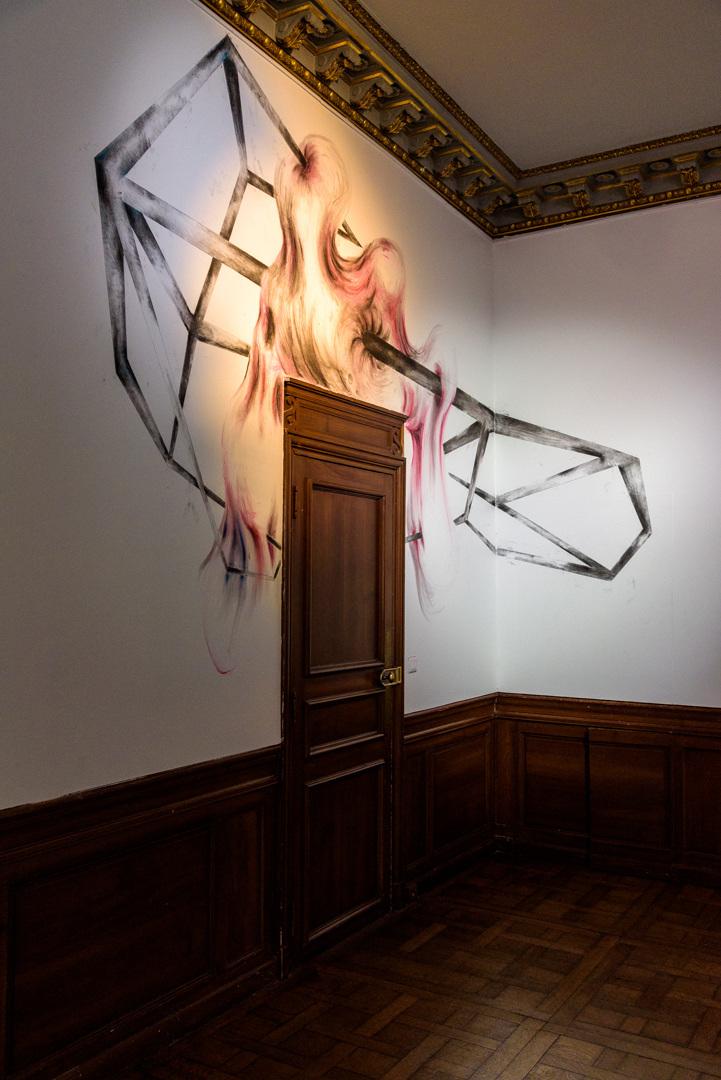 Tatiana Wolska, exhibition view of 'Les variations du possible' at Domaine départemental de Chamarande (FR), 2021. Ph: Henry Perrot